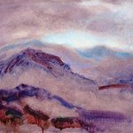 Purple Landscape, Ron Ogle
