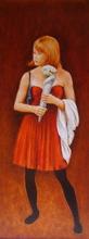 - artwork The_Bridesmaid-1319203678.jpg - 2011, Painting Oil, Figurative
