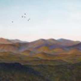 Ron Ogle Artwork The View That Made Asheville Famous, 2009 Oil Painting, Landscape