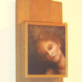 Ron Ogle: 'frame THIS', 2002 Oil Painting, Figurative. Artist Description: Oil on wood, mounted on cutting board. ...