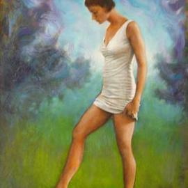Ron Ogle: 'natalie', 2004 Oil Painting, Figurative. Artist Description: