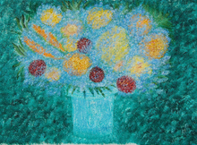 - artwork Mindful_Flowers-1183123369.jpg - 2006, Painting Oil, Still Life