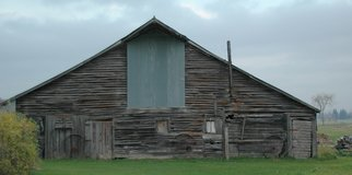 Obert Fittje Artwork Old Minnesota Barn, 2005 Color Photograph, Americana