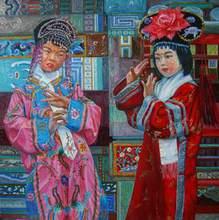 - artwork Chinese_plastic-1192222314.jpg - 2006, Painting Oil, Figurative