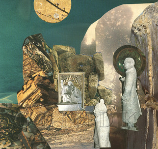 Collage by Oksana Linde titled: Retorno I, created in 2009