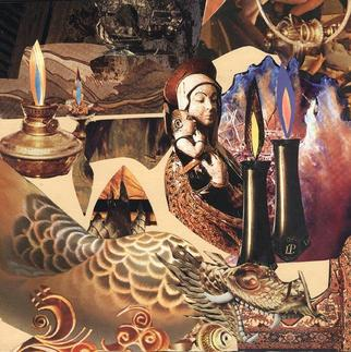 Collage by Oksana Linde titled: Vision, created in 2005
