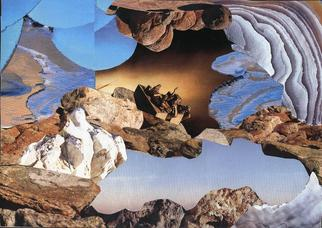 Collage by Oksana Linde titled: Voyage, created in 2005