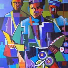 abstract drummer  By Smith Olaoluwa