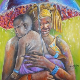 caring mother  By Smith Olaoluwa