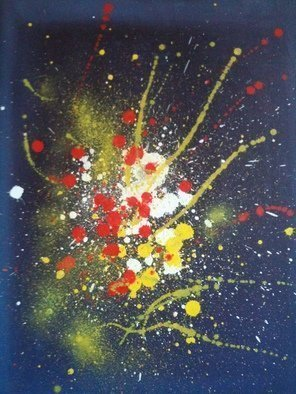 Olaoluwa Smith Artwork splash, 2010 Oil Painting, Abstract