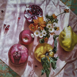 fruits illuminated by the sun By Oleg Khoroshilov