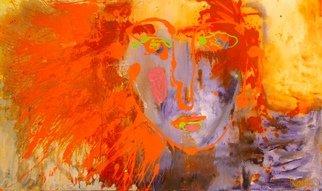 Artist: Olga Bukowska - Title: Red - Medium: Oil Painting - Year: 2014