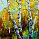 autumn birch By Olha Darchuk