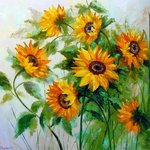 sunflowers By Olha Darchuk