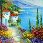 sunny day by the sea By Olha Darchuk