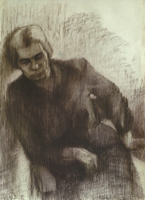 Dario Raffaele Orioli Artwork Portraites 4, 1976 Other Drawing, Portrait