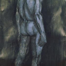 Dario Raffaele Orioli Artwork nude 2, 1977 Other Painting, Nudes
