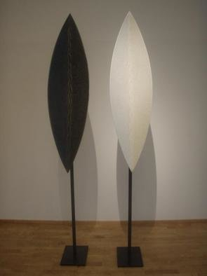 Osloart Online Gallery: 'Balanse', 2006 Mixed Media Sculpture, Abstract Figurative. Artist Description:  Johan Fredrik Arntzen, Balanse. H- 2,27m. ...