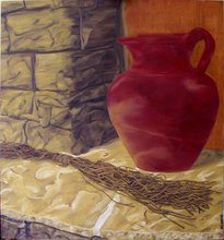 - artwork Der_Hauswein-1282857485.jpg - 2010, Painting Oil, Still Life