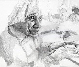 Pencil Drawing by Nagy Oszkar titled: Ligeti, 2008