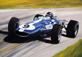 Steve Jones Artwork Dan Gurney   Eagle, 2015 Other Painting, Sports