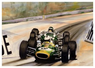 Steve Jones Artwork Monaco   66, 2015 Other Painting, Sports