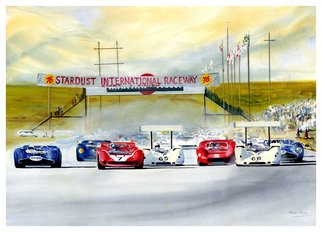 Steve Jones Artwork Stardust GP , 2015 Other Painting, Sports
