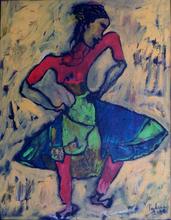 - artwork Dancer-1298905521.jpg - 2009, Painting Oil, Figurative