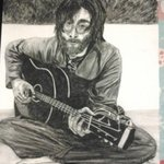Lennon portrait By Katy Kerr