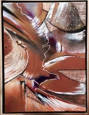 Artist: Pamela Van Laanen - Title: Chocolate on My Mind - Medium: Acrylic Painting - Year: 2014