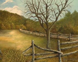 Artist: Pamela Van Laanen - Title: Country Road II - Medium: Acrylic Painting - Year: 2013