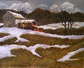 Artist: Pamela Van Laanen - Title: Early Spring Thaw - Medium: Acrylic Painting - Year: 2012
