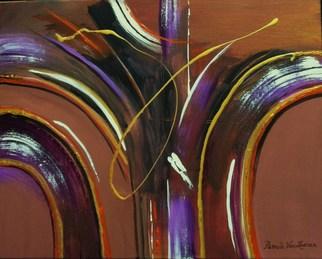 Artist: Pamela Van Laanen - Title: No U Turn - Medium: Acrylic Painting - Year: 2012