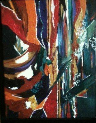 Pamela Van Laanen Artwork Tropicana, 2010 Acrylic Painting, Abstract