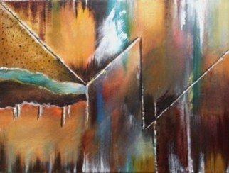 Artist: Pamela Van Laanen - Title: Zig Zag - Medium: Acrylic Painting - Year: 2014