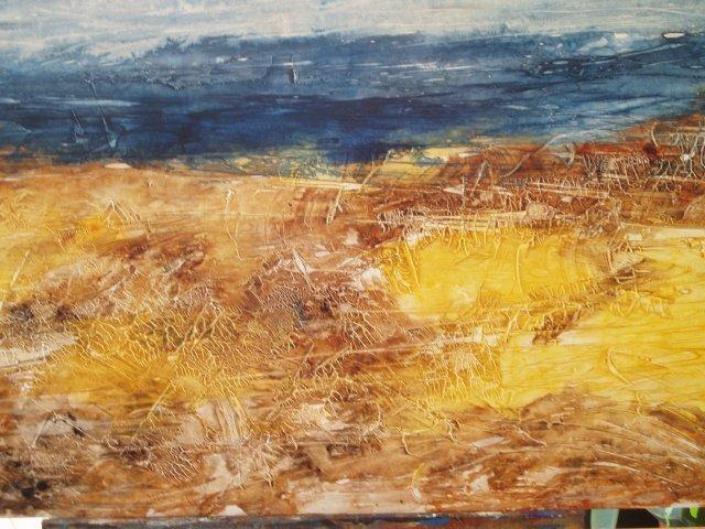 Paola Di Renzo  'Seascape', created in 2005, Original Painting Acrylic.