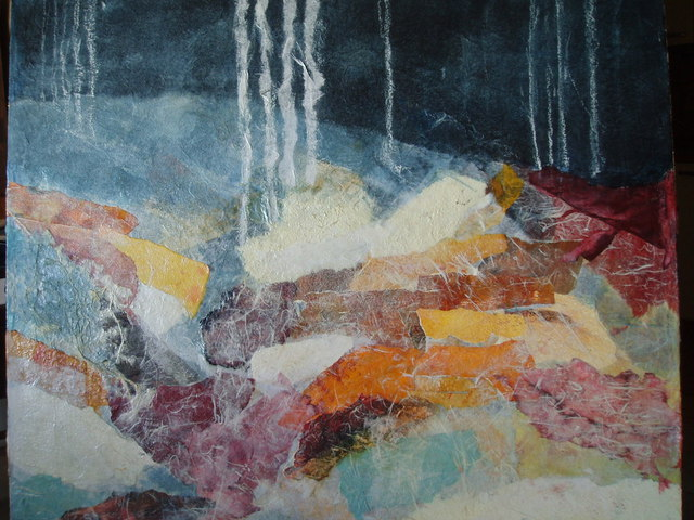 Paola Di Renzo  'Winter', created in 2009, Original Painting Acrylic.