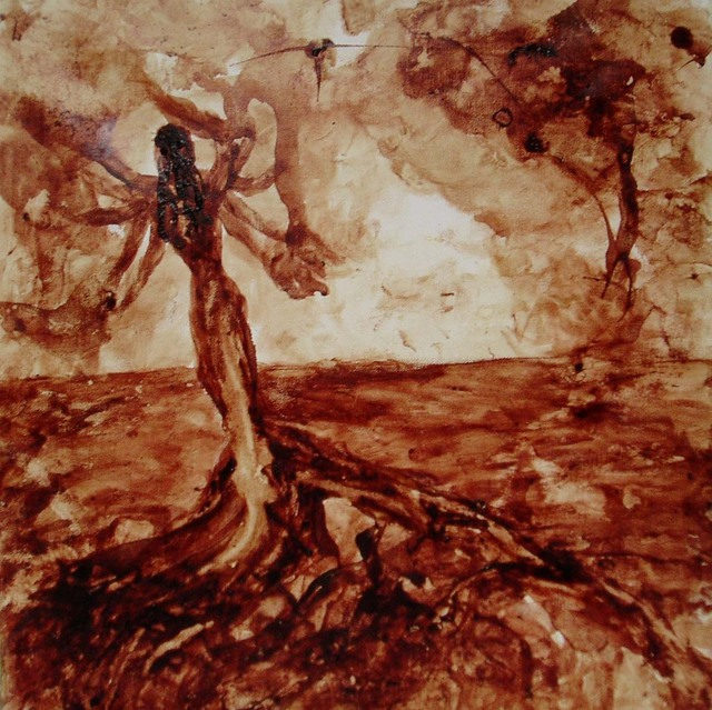 Papia Ghoshal  'DURGA', created in 2007, Original Painting Other.
