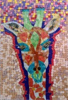 Image of: Elementary Goksen Parlatan magic Giraffe Mosaic 2017 Mosaic Animals Artist Description Absoluteartscom Mosaic Art Original Artwork Contemporary Artists Absoluteartscom