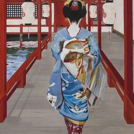 Maiko in Miyajima By Pasquale Pacelli