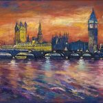 Houses of Parliament By Patricia Clements