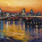 St Pauls Skyline  By Patricia Clements