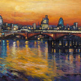 St Pauls Skyline , Patricia Clements