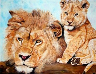 Artist: Patricia Vicente - Title: Hijos de Africa - Medium: Oil Painting - Year: 2014