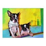 Bathtime Boston Terriers By Patti Meador