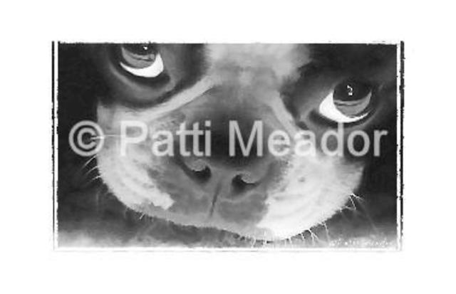Patti Meador  'Pout', created in 2004, Original Digital Art.