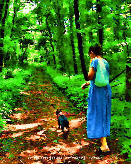 Patti Meador  'The Walk', created in 2009, Original Digital Art.