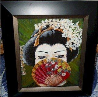 Patty Hoskin Artwork Geisha 1, 2011 Acrylic Painting, People