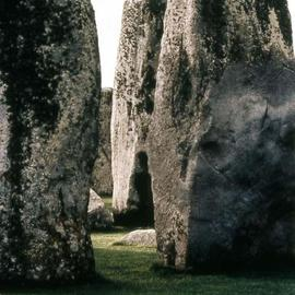 Paula Durbin: 'Stonehenge Vertical', 2003 Color Photograph, Landscape. Artist Description: Stonehenge Mysticism abounds.  Print is an Epson Digital.  May be printed in other sizes and processes....