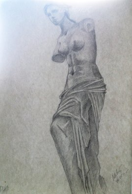 Paul Anton Artwork Sketch 01, 2015 Pencil Drawing, Nudes